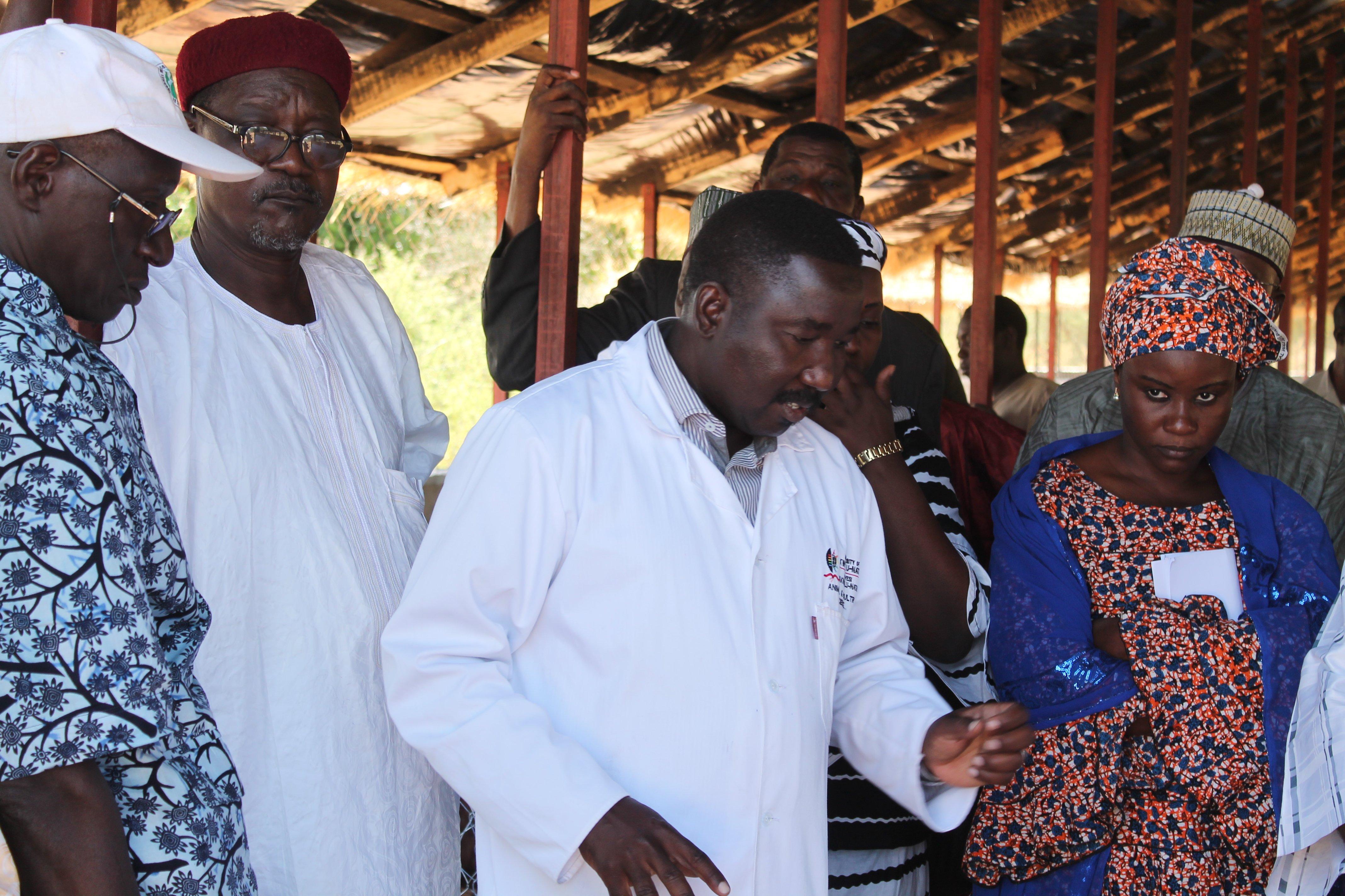le Dr Abdou a passé quatre ans (2012-2016) à l'Université du Kwa-Zulu Natal en Afrique du Sud où il a obtenu un doctorat en alimentation et nutrition animales. Photo/PPAAO Niger